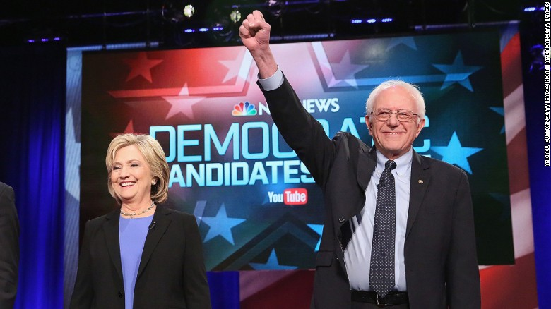 Clinton now sees Sanders as threat