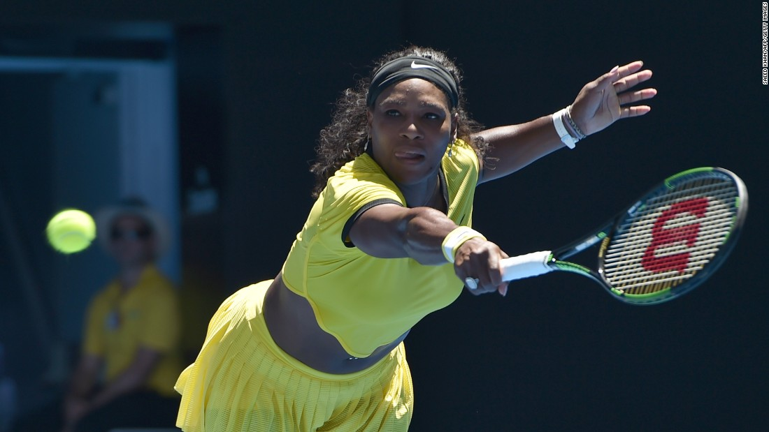 Defending champion Serena Williams got off to a better start than Wozniacki, beating Italy's Camila Giorgi 6-4 7-5. Ahead of the start of the Australian Open, the world No. 1 had been troubled by a knee injury.