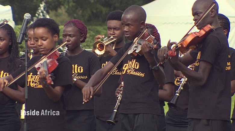 How Nairobi's youth learn classical music