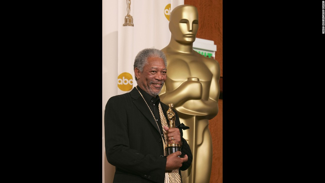 "Morgan Freeman picked up the Oscar for best supporting actor for his role in ""Million Dollar Baby"" in 2005."