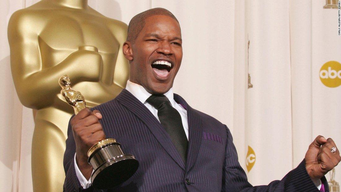 "Jamie Foxx won best actor for ""Ray"" in 2005."