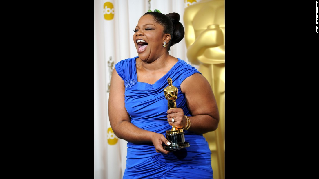 "In 2009, Mo'Nique was named best supporting actress for her role in ""Precious: Based on the Novel 'Push' by Sapphire."""