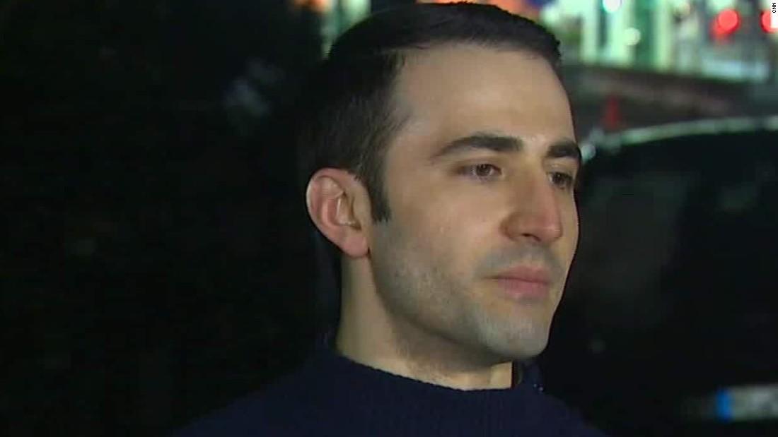 American freed by Iran feels 'born again'