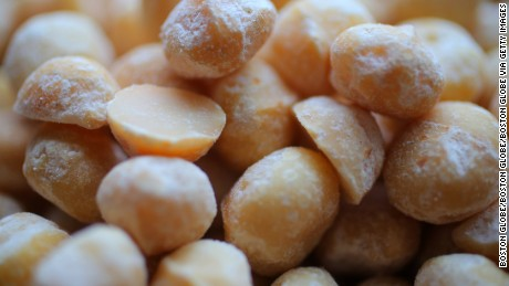 Macadamia nuts are in high demand.
