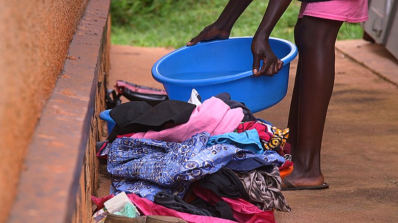 Uganda's Uber-like app for dirty laundry
