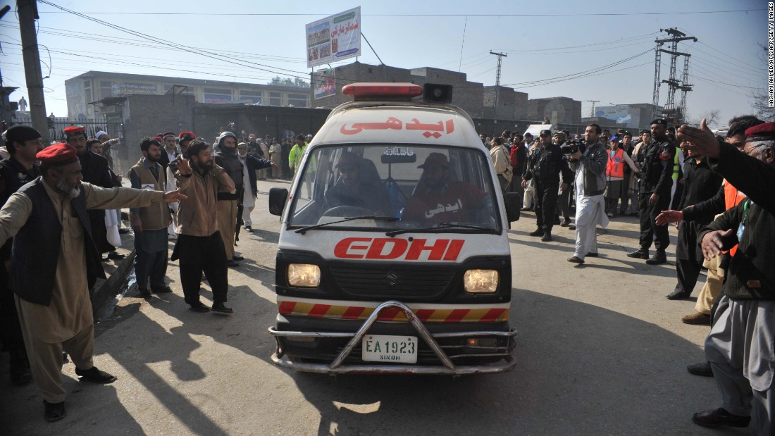 At least 22 killed in attack on Bacha Khan University in Pakistan