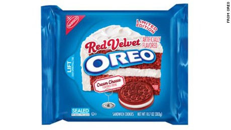 Red Velvet Oreo's will be returning to the cookie aisle.