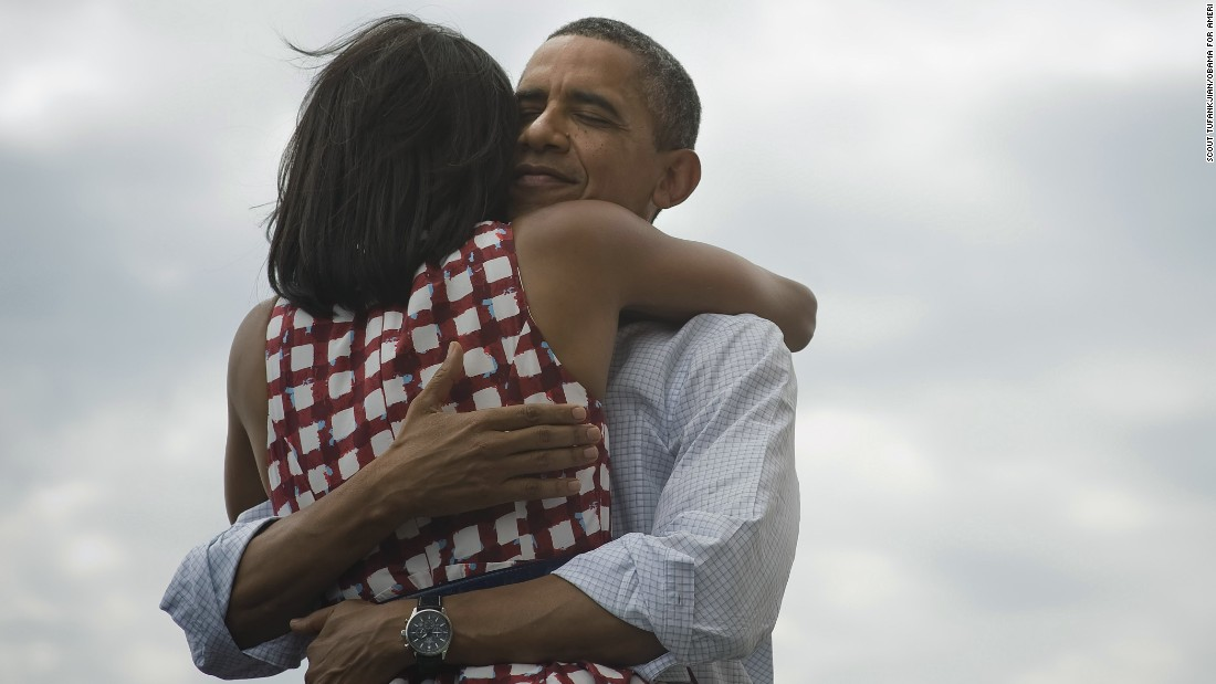 Ain't love grand? This photo tweeted by @BarackObama quickly became the most retweeted post of all time.