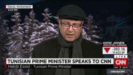 Tunisian Prime Minister speaks to CNN