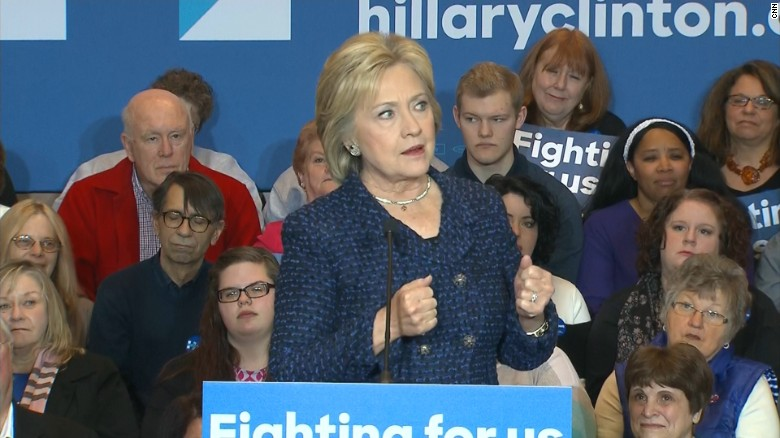 Hillary Clinton goes on the attack in Iowa