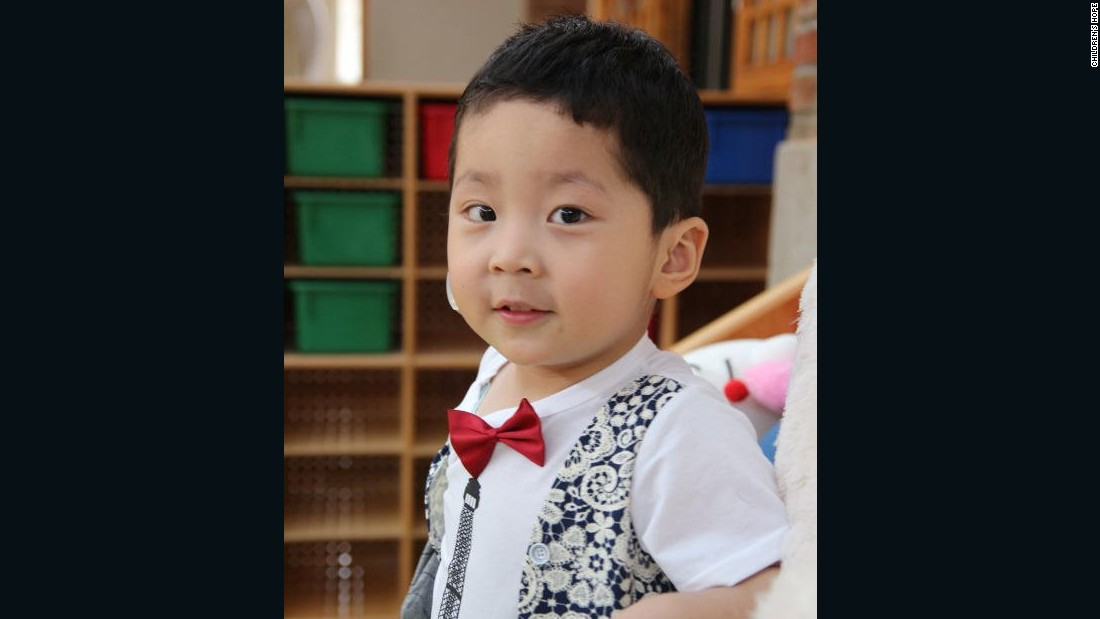 "Born in 2011, Yuan Kai has been cared by Children's Hope since May, 2015. He is deaf and mute. His carers say he's ""very handsome but a little bit naughty."" Yuan Kai is currently registered at a local kindergarten."