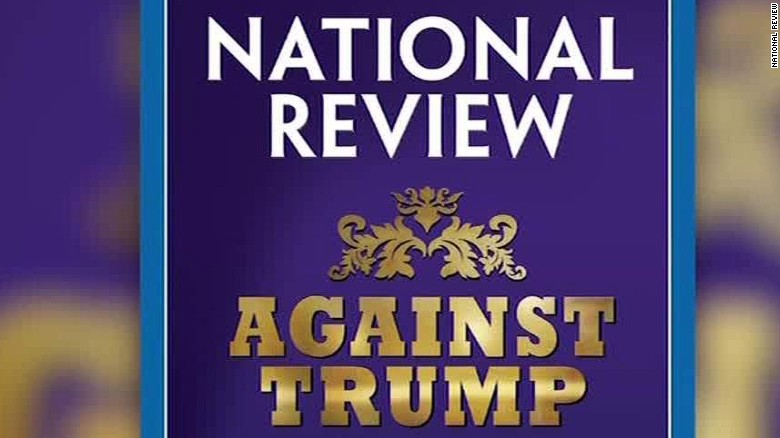 National Review devotes issue to attack Trump