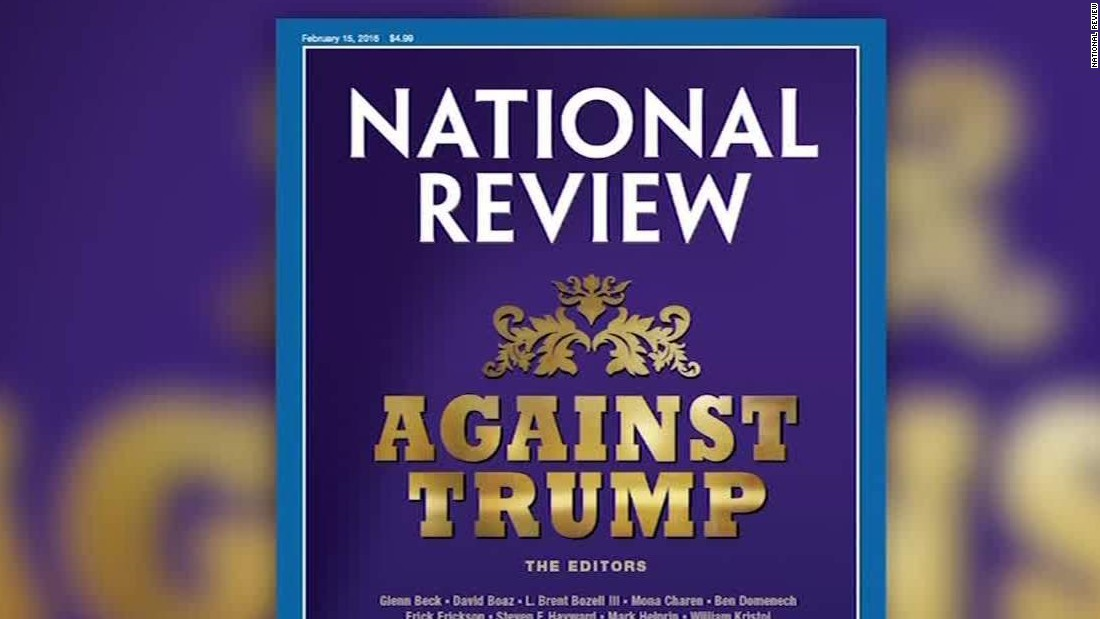 10 reasons National Review doesn't want Trump in the White House