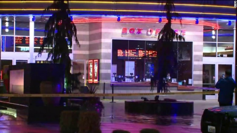 Woman injured in movie theater shooting