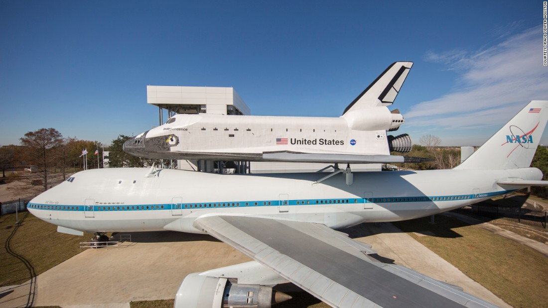 Space Shuttle Piggyback Unveiled CNN Travel - Examples future planes look according nasa