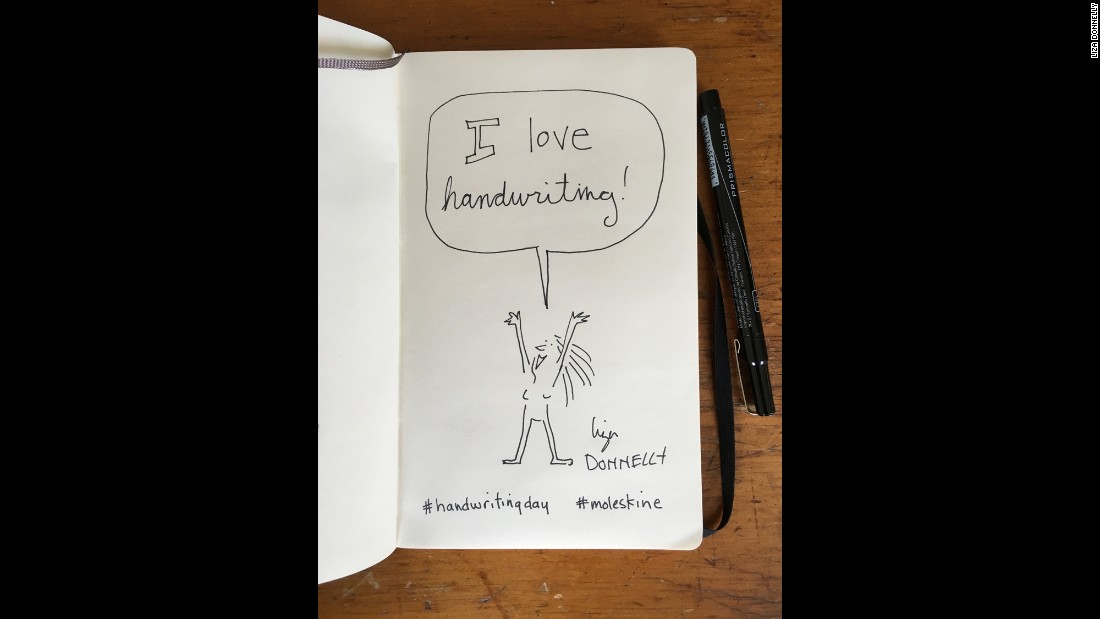 Cartoonist and writer Liza Donnelly showcases her enthusiasm for the pen and the page with her handiwork.