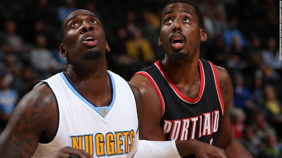 U.S.-born Al-Farouq Aminu (right) has Nigerian parents. In July 2015 he signed a four-year deal with Portland Trail Blazers, following spells with Dallas Mavericks, New Orleans and Los Angeles Clippers.