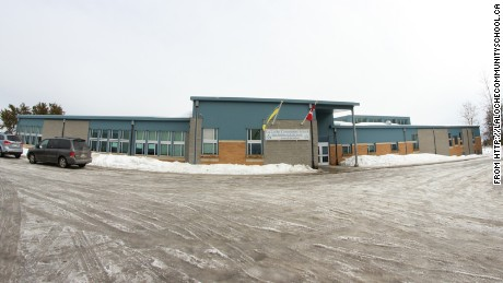 This image of La Loche Community School was taken from their web site.