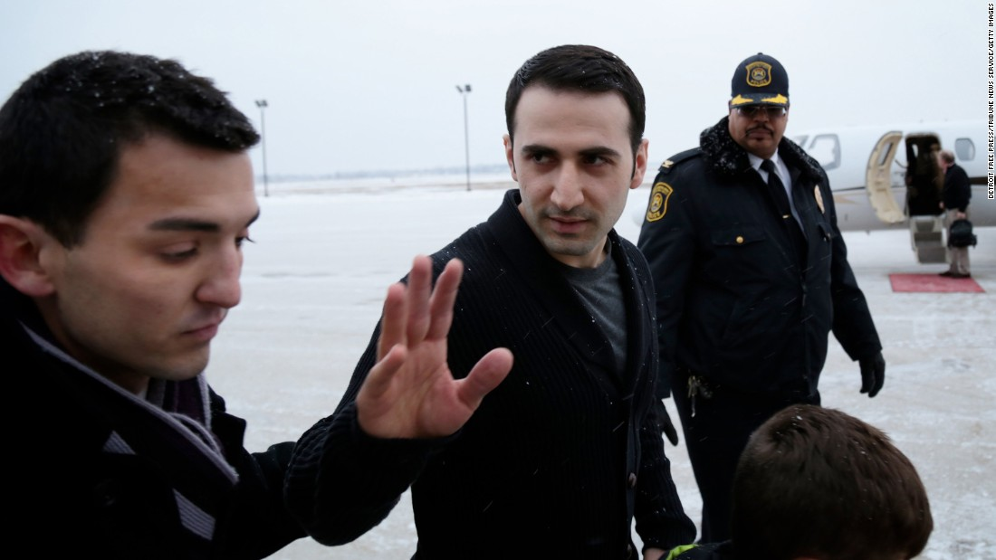 "Former U.S. Marine Amir Hekmati waves after arriving at an airport in Flint, Michigan, on Thursday, January 21. Hakmati was recently released from an Iranian prison where he was held for more than four years. Iran and the United States <a href=""http://www.cnn.com/2016/01/16/politics/us-iran-prisoners-release/"" target=""_blank"">swapped prisoners</a> after 14 months of secret negotiations."