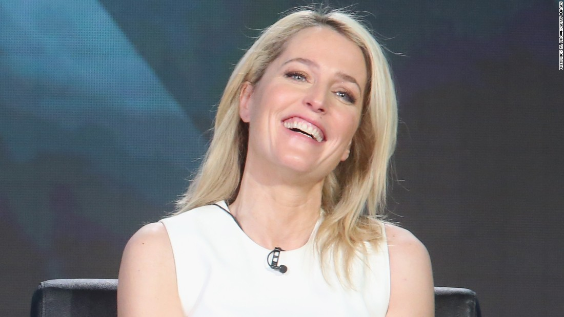 Gillian Anderson: I was offered less for 'X-Files' reboot ...