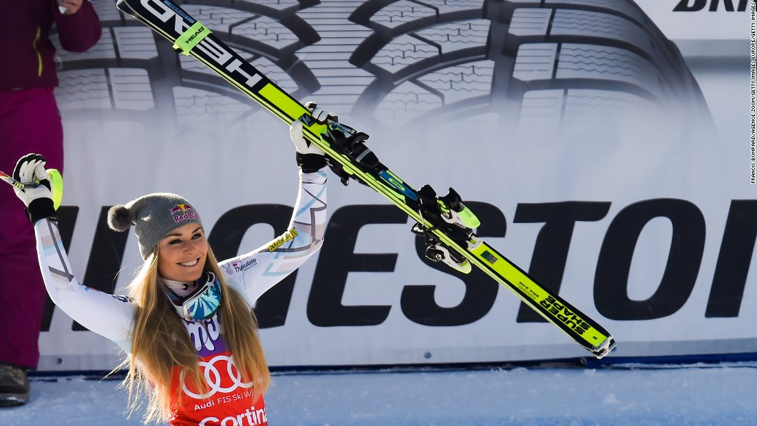 That victory was Vonn's 37th in World Cup downhill races, more than any other skier.
