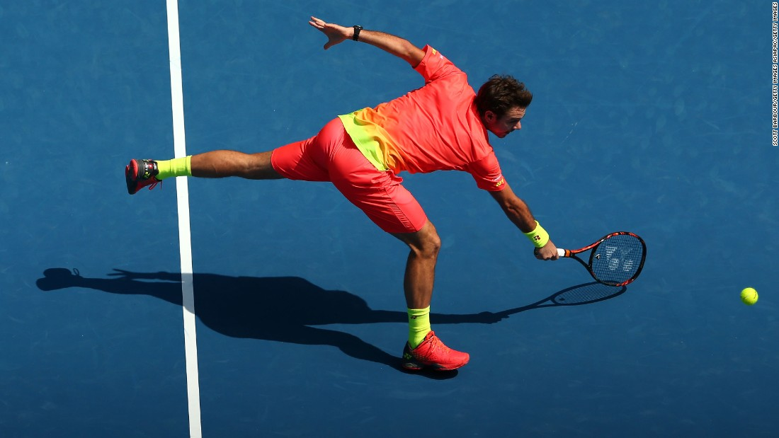 Wawrinka said post-match that he had been ill for 10 days and struggled to reach the heights that saw him claim his first grand slam title two years ago.