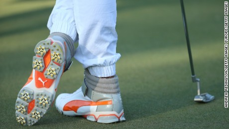 Fowler's high-tops took golf fashion into a new era in Abu Dhabi