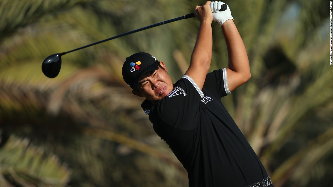 Byeong Hun An, of Korea, is the youngest-ever winner of the U.S. Amateur Championship.