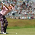 Ian Poulter check trousers