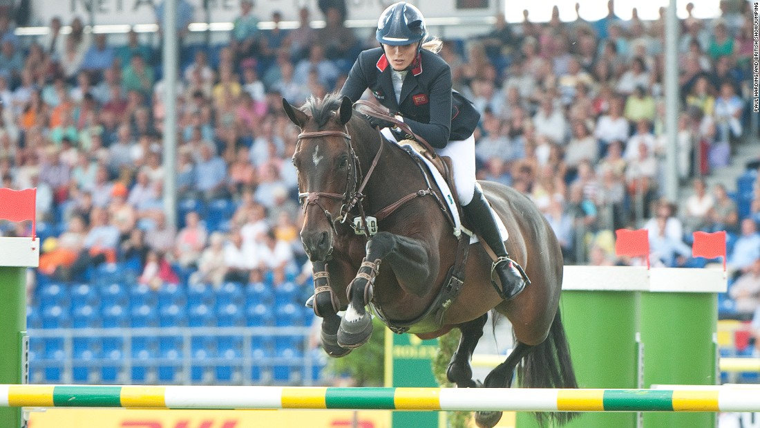 Her fighting spirit has taken her to the summit of her sport. Here she is in action at the 2015 European Championships in Aachen, Germany.