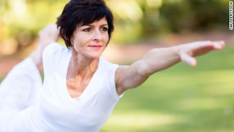 Exercise during menopause could reduce hot flashes, study says