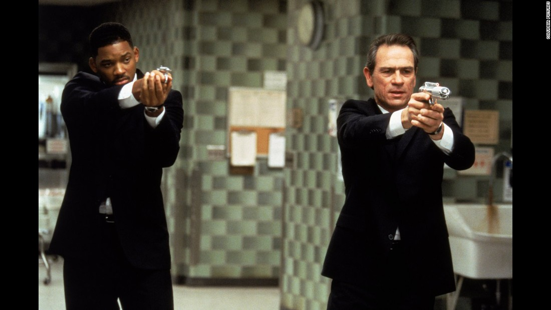 "<strong>""Men in Black"":</strong> Will Smith and Tommy Lee Jones hunt down wayward aliens in the film that set off a franchise. <strong>(Amazon Prime) </strong>"