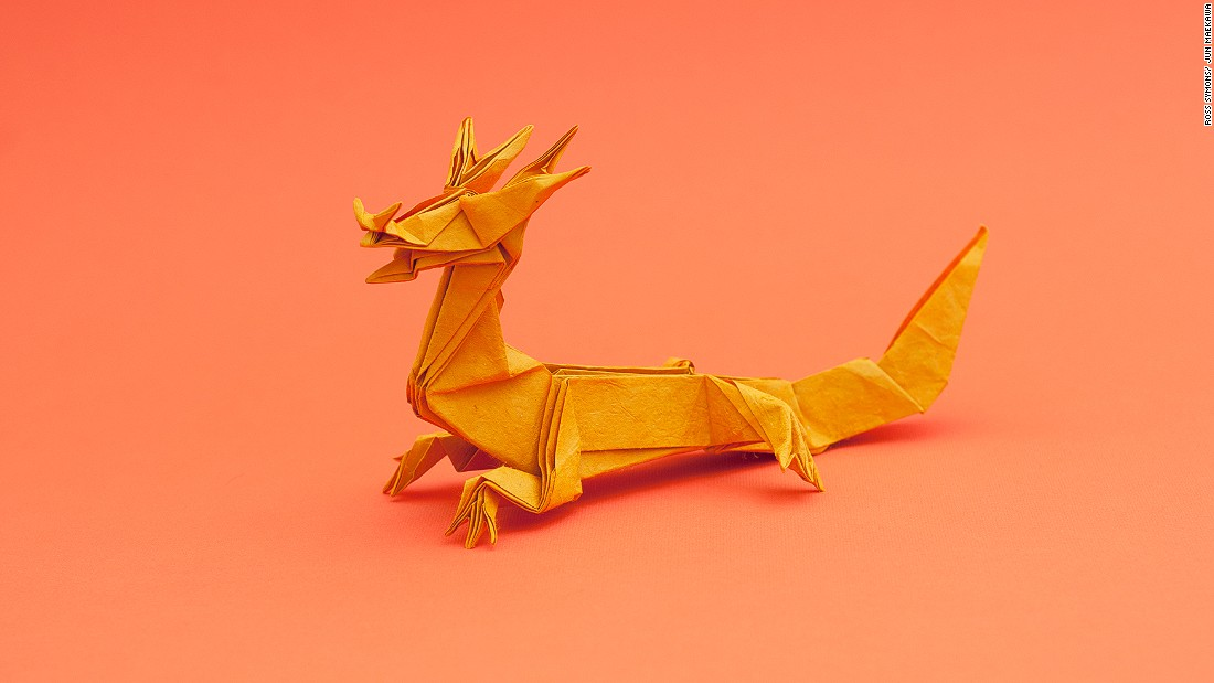 "Ross Symons began making origami full-time in 2014. He says: ""I've always ever worked in a standard work environment, sitting behind a desk with a computer in front of me. I thought, well I'm not really enjoying this so let's try do something else."""