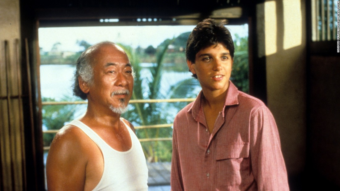 "<strong>""The Karate Kid"":</strong> Pat Morita and Ralph Macchio star in the original film to make ""wax on, wax off"" a thing. <strong>(Amazon Prime) </strong>"