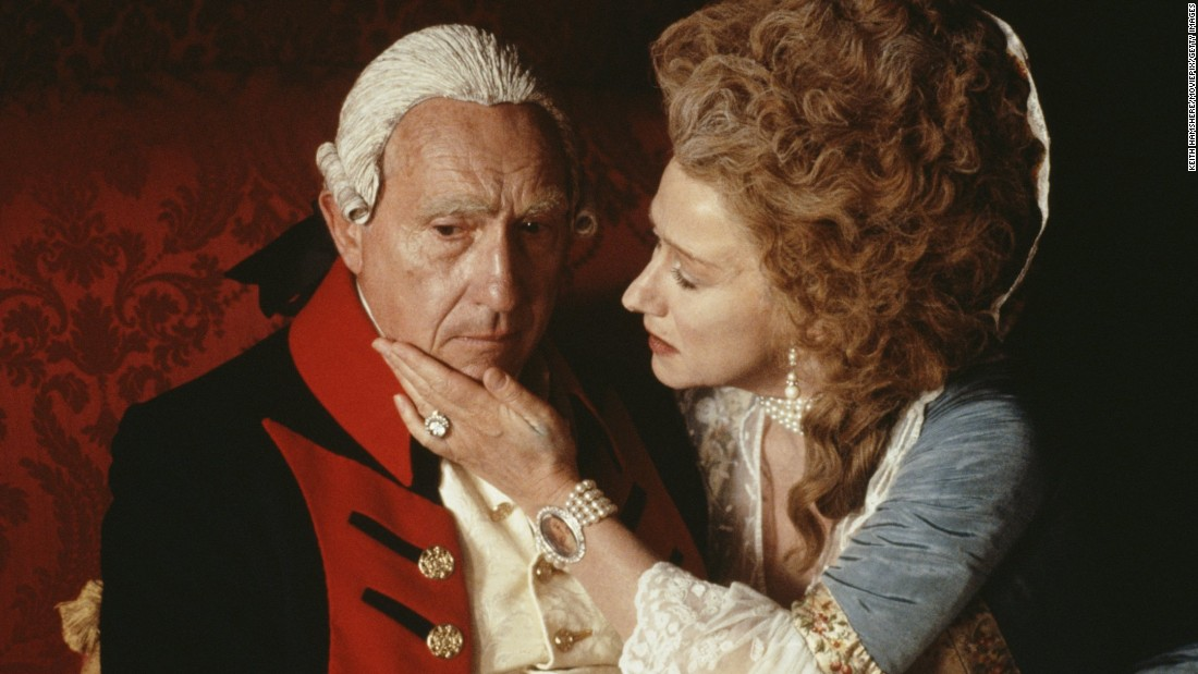 "<strong>""The Madness of King George"":</strong> Nigel Hawthorne stars as King George III and Helen Mirren as Queen Charlotte in this film about a monarch's struggle to maintain his sanity. <strong>(Hulu) </strong>"