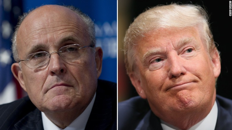 Rudy Giuliani: 'I endorse Donald Trump'
