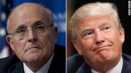 Trump, Giuliani strategizing leaves White House in the dark