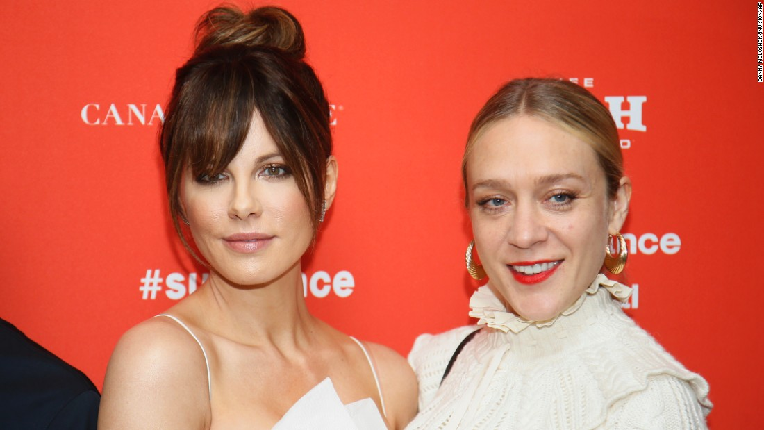 "Actresses Kate Beckinsale, left, and Chloe Sevigny at the Sundance premiere of ""Love & Friendship,"" Whit Stillman's adaptation of an unpublished Jane Austen manuscript. The actresses co-starred almost two decades ago in Stillman's ""The Last Days of Disco."""