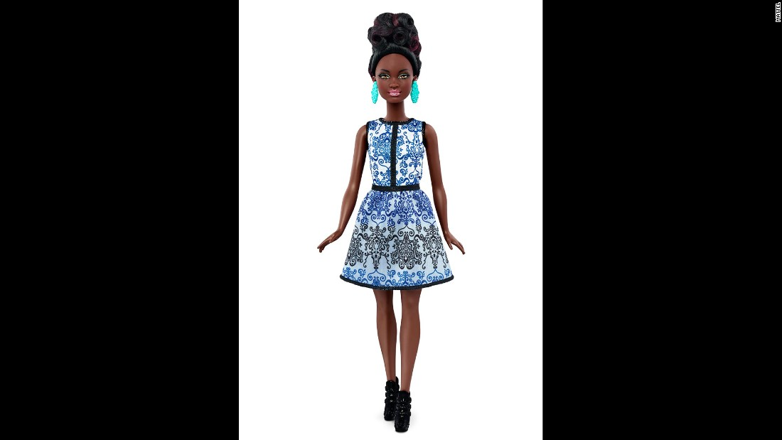 Petite Barbie is the smallest of the three dolls.