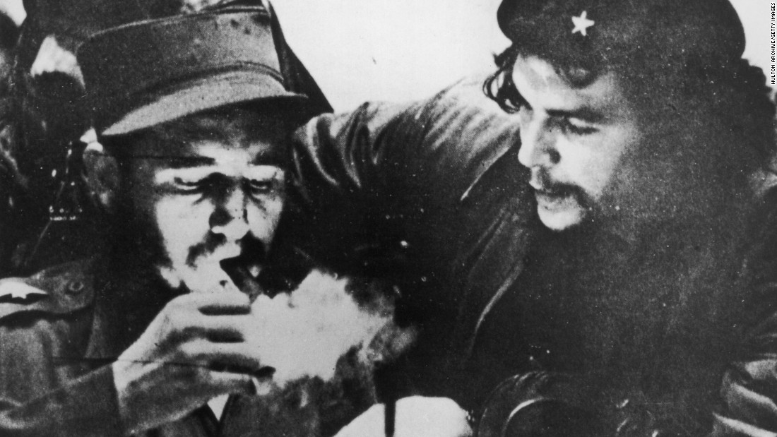 Castro, pictured left with Argentine Marxist revolutionary Che Guevara, swept to power in 1959 after his 26th of July Movement overthrew the U.S.-backed authoritarian government of Cuban President Fulgencio Batista. It became the Communist Party in 1965 and remains in power to this day.