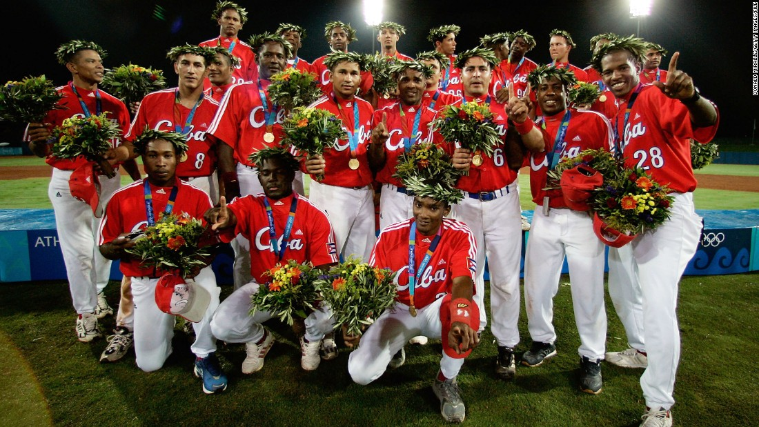 Cuba has long had a sporting pedigree. Recognized as one of the world's best baseball teams, its men have won Olympic gold three times -- most recently in 2004.