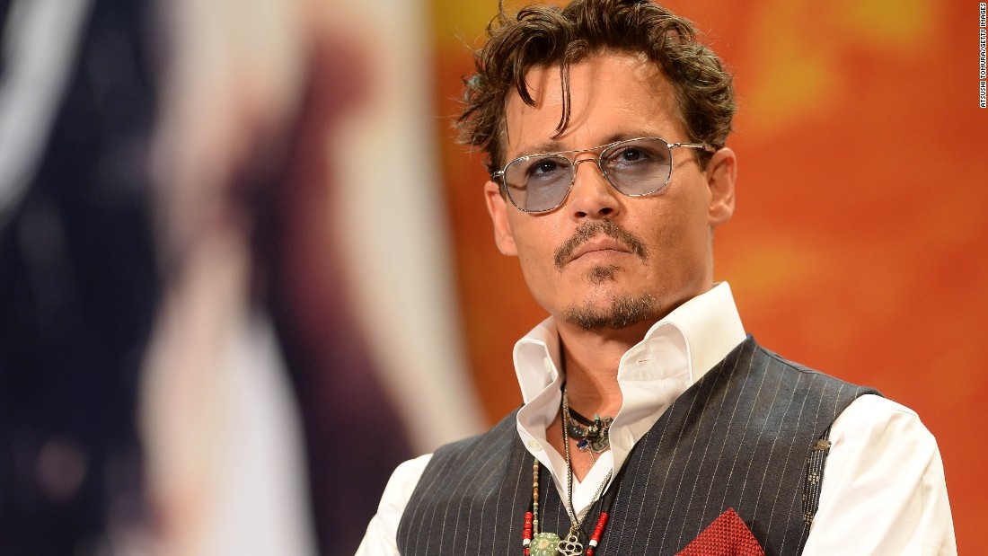 "Depp attends a premiere for his remake of ""The Lone Ranger' on July 17, 2013 in Tokyo, Japan. The actor became a global star with the ""Pirates of the Caribbean"" movies and won raves last year for his starring role in ""Black Mass."""