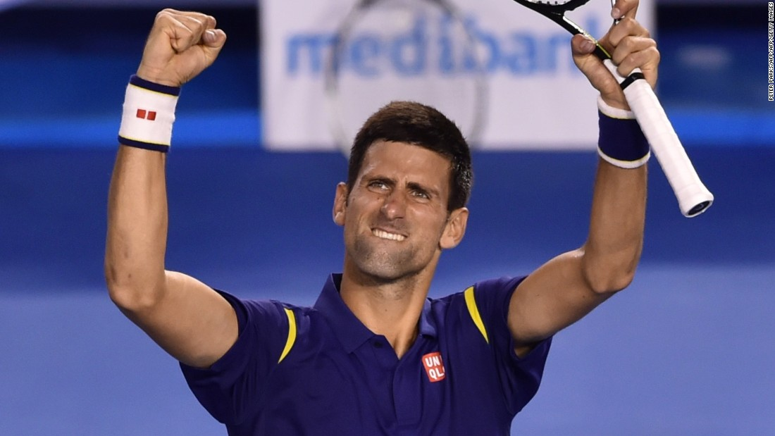 "Djokovic beat the Swiss in four sets before <a href=""http://edition.cnn.com/2016/01/31/tennis/australian-open-tennis-djokovic-murray/index.html"">demolishing Britain's Andy Murray in the final</a> to claim a record sixth Australian Open crown and his 11th grand slam title."
