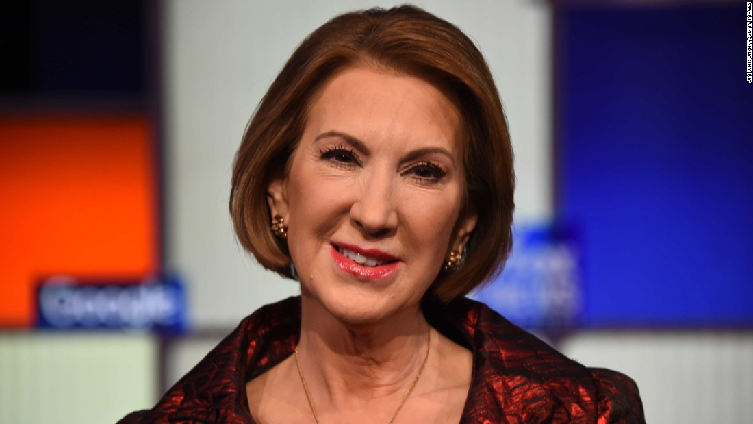 "Carly Fiorina took the opportunity to attack Hillary Clinton, saying she lied about Benghazi and, ""She's escaped prosecution more times than El Chapo. Maybe Sean Penn should interview her."""