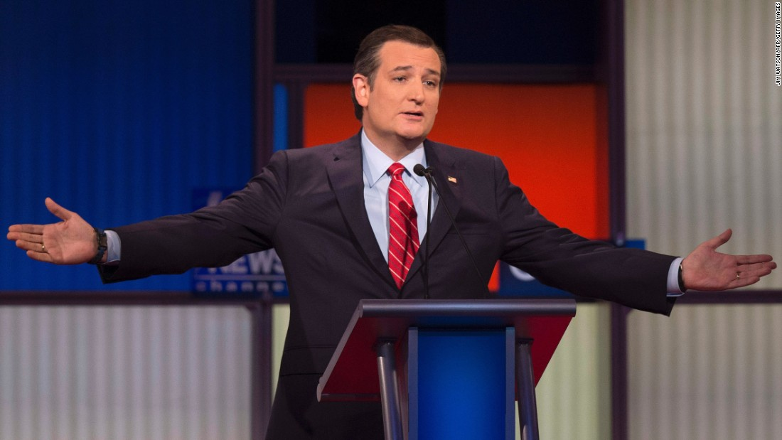 "Cruz said he was not going to apologize for wanting to fight ISIS. ""You claim it is tough talk to discuss carpet bombing. It is not tough talk. It is a different military strategy from Barack Obama,"" Cruz said. ""You want to know what carpet bombing is? It's what we did in the first Persian Gulf War."""