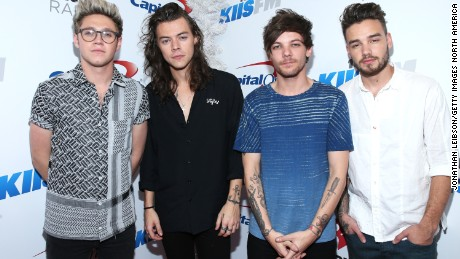 Fans mourn 'final' One Direction performance