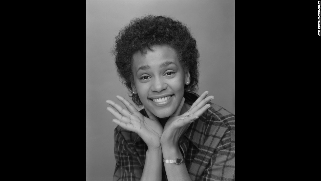 quot The pictures I made of her were not her subsequent polished  image  quot. Photos of a young Whitney Houston   CNN