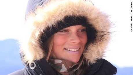 Angel Collinson: Skier survives unscathed after dramatic 1,000ft fall