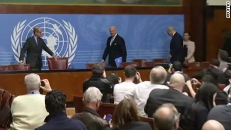 Syria peace talks finally begin after delays