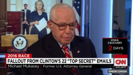exp Mukasey on Clinton Emails_00002001